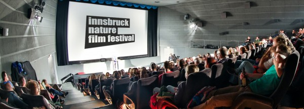「インスブルック・ネイチャー・フィルム・フェスティバル」バナー